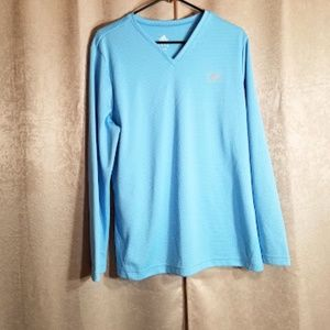 Adidas Long Sleeve Blue Top sz XL
